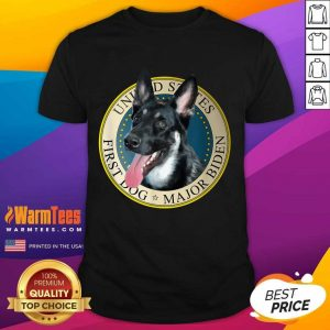 Major Biden First Dog Of The 46th President Shirt
