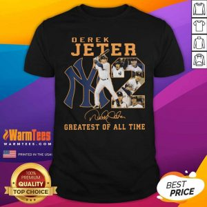 NY2 Derek Jeter Greatest Of All Time Signature Shirt - Design By Warmtees.com