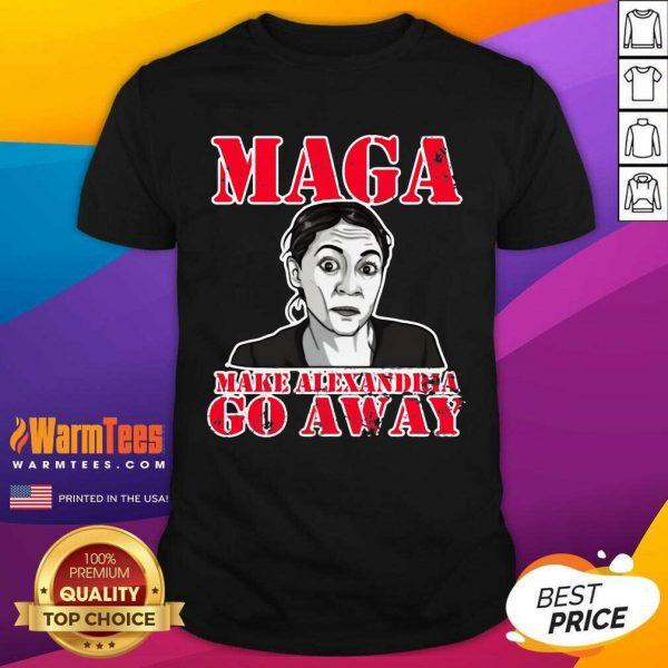 Ocasio Cortez MAGA Make Alexandria Go Away Shirt - Design By Warmtees.com