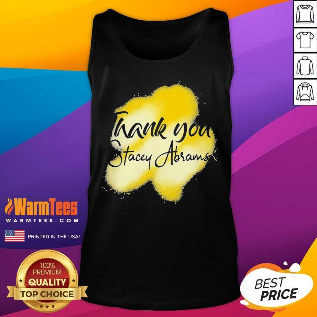 Thank You Stacey Abrams Tank Top