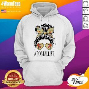 The Girl #Postallife Hoodie