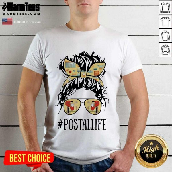 The Girl #Postallife Shirt