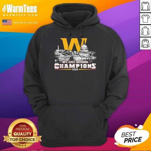 Washington Football Nfc East Division Champions 2020 Hoodie