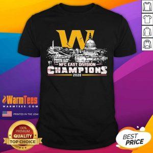 Washington Football Nfc East Division Champions 2020 Shirt