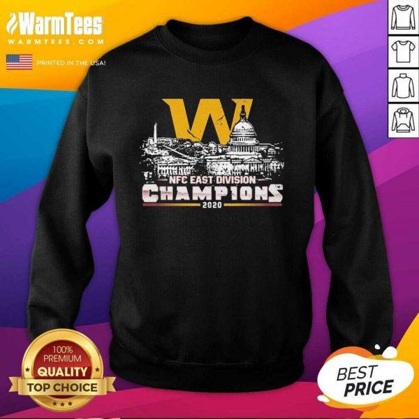 Washington Football Nfc East Division Champions 2020 SweatShirt