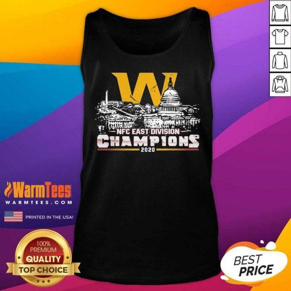 Washington Football Nfc East Division Champions 2020 Tank Top