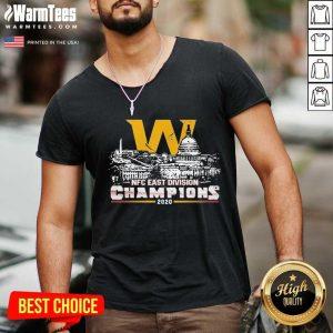 Washington Football Nfc East Division Champions 2020 V-neck