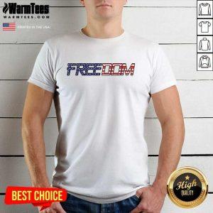American Flag Patriotic Freedom Shirt - Design By Warmtees.com