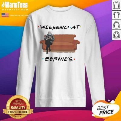 Bernie Sanders Mittens Weekend At Bernie's SweatShirt