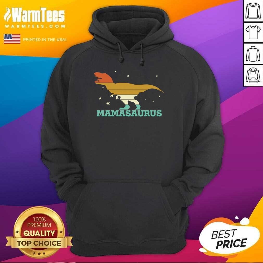 Mamasaurus Funny Trex Mothers Day Hoodie