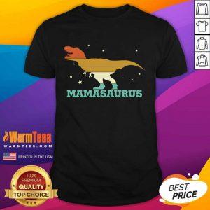 Mamasaurus Funny Trex Mothers Day Shirt