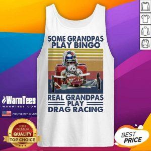 Some Grandpas Play Bingo Real Grandpas Play Vintage Tank Top