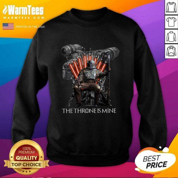The Throne Is Mine Luffy SweatShirtNice The Throne Is Mine Luffy SweatShirt