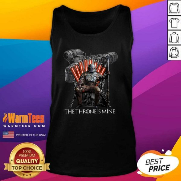 The Throne Is Mine Luffy Tank Top - Design By Warmtees.com