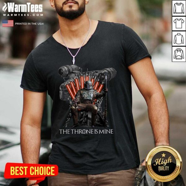 The Throne Is Mine Luffy V-neck - Design By Warmtees.com