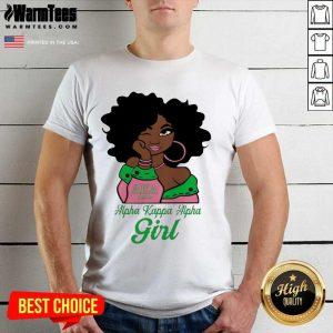 Black Girl AKA 1908 Alpha Kappa Alpha Girl Shirt