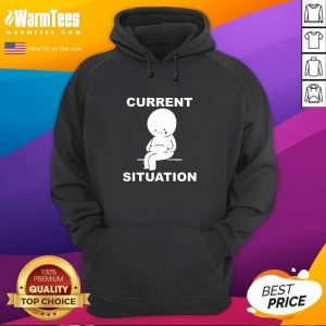 Current Situation Fat Hoodie - Design By Warmtees.com