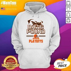 Dawg Pound 2020 Playoffs Cleveland Browns Hoodie - Design By Warmtees.com