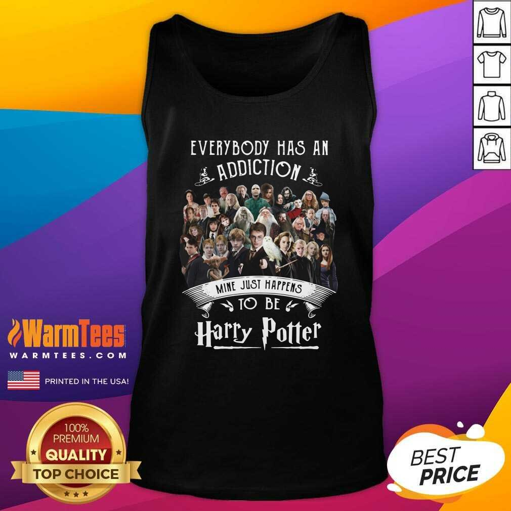 Everybody Has An Addiction Mine Just Happens To Be Harry Potter Tank Top - Design By Warmtees.com