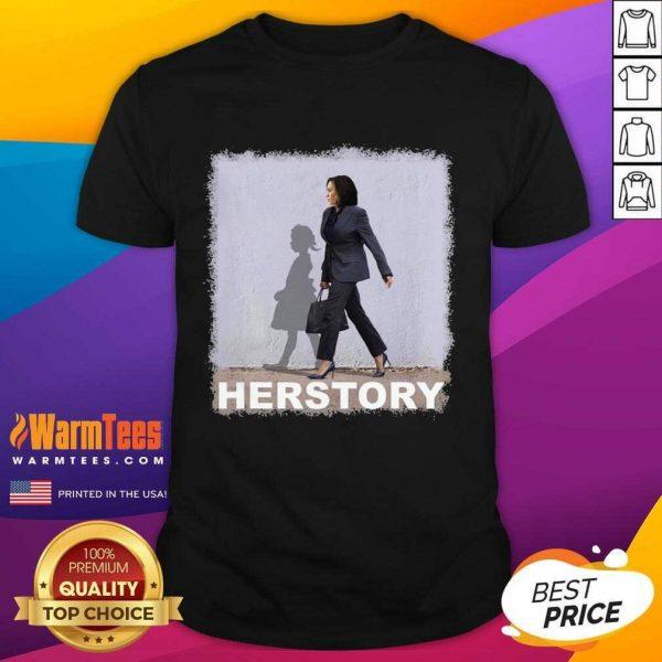 Kamala Harris Herstory Madam Vice President Shirt