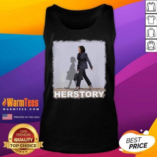 Kamala Harris Herstory Madam Vice President Tank Top