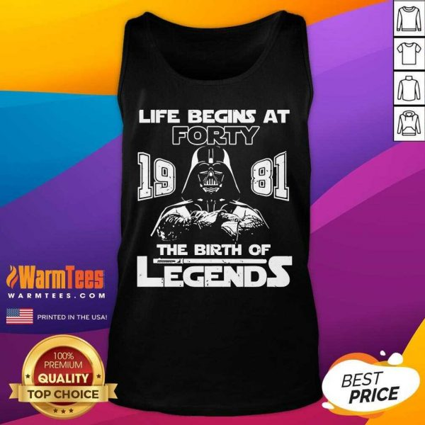 The Mandalorian Life Begins At Thirty 1991 The Birth Of Legend Tank Top