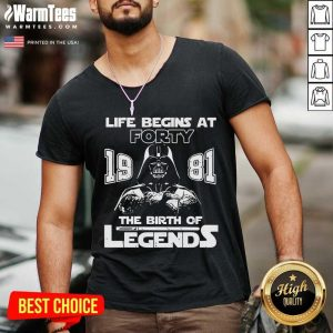The Mandalorian Life Begins At Thirty 1991 The Birth Of Legend V-neck
