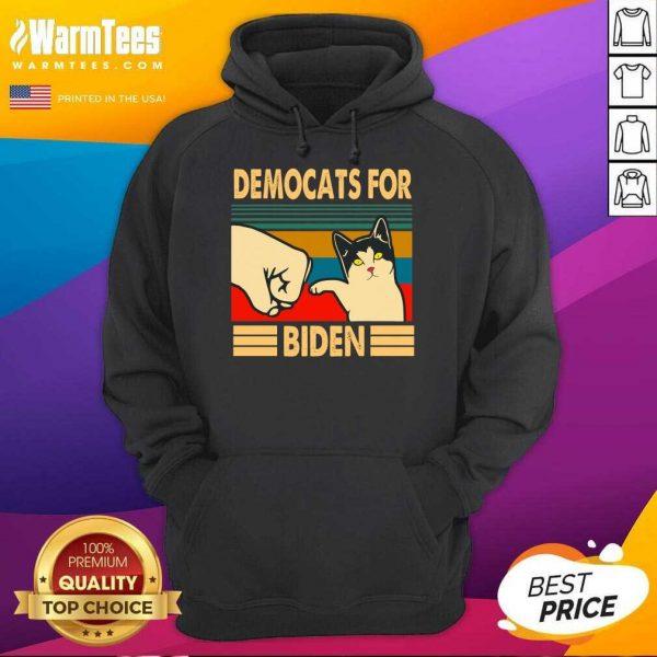 Democats For Biden Vintage 2021 Hoodie