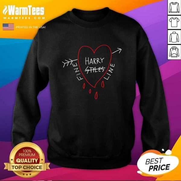 Fine Line Styles Of Harry Tee SweatShirt - Design By Warmtees.com