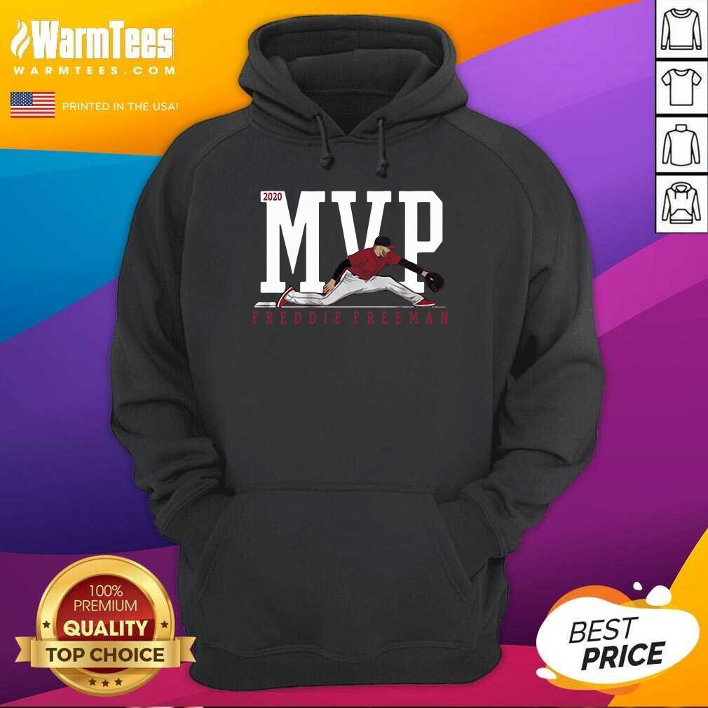 Freddie Freeman MVP 2020 Hoodie  - Design By Warmtees.com