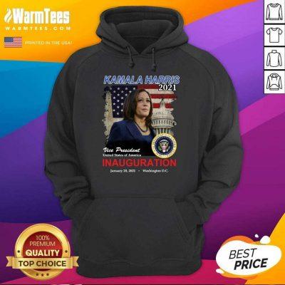 Kamala Harris 2021 Vice President United States Of America Inauguration Hoodie