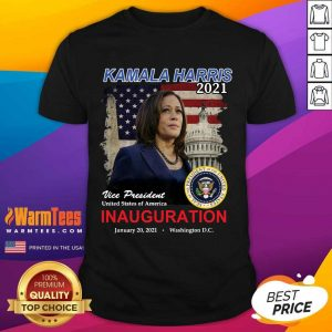Kamala Harris 2021 Vice President United States Of America Inauguration Shirt