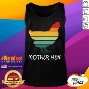 Mother Hen Funny Hen Mothers Tank Top