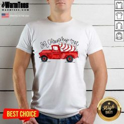 Truck Red Oh Christmas Tree Shirt - Design By Warmtees.com