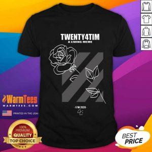 Twenty4tim Shop Merch Rose Shirt