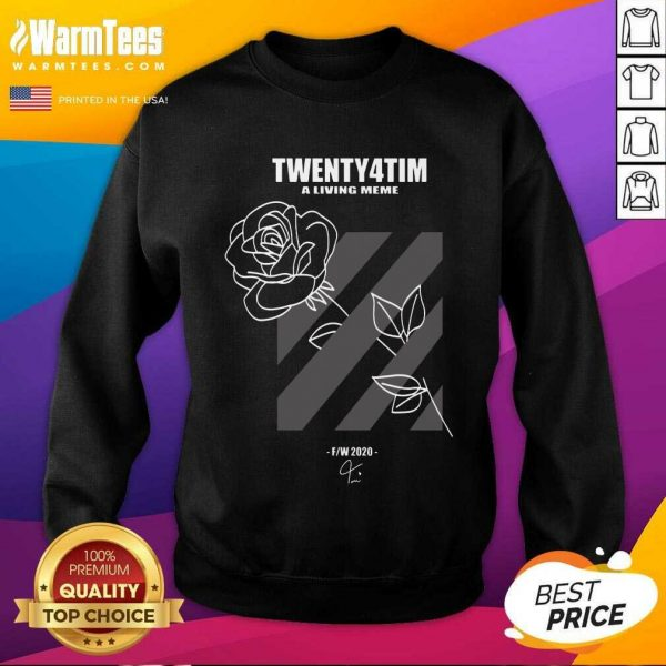 Twenty4tim Shop Merch Rose SweatShirt