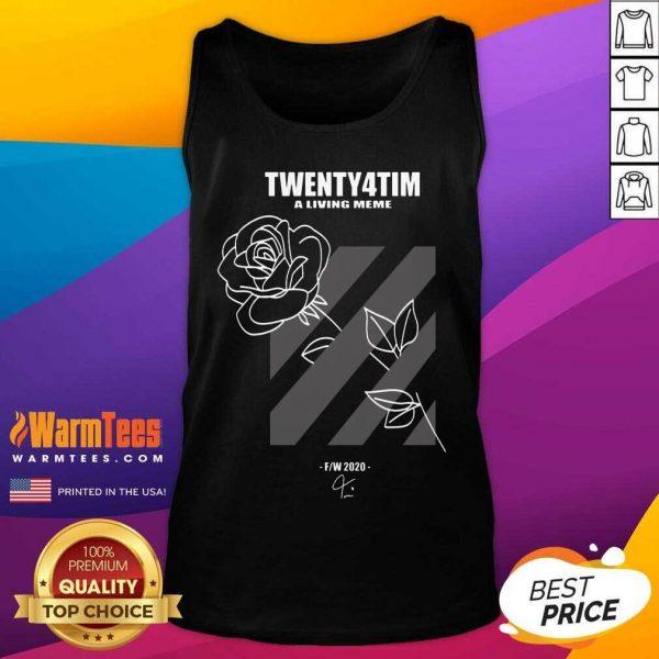 Twenty4tim Shop Merch Rose Tank Top