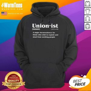 Unionist Definition 2021 Hoodie - Design By Warmtees.com