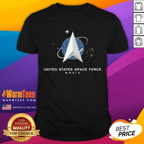 United States Space Force Mmxix Shirt - Design By Warmtees.com