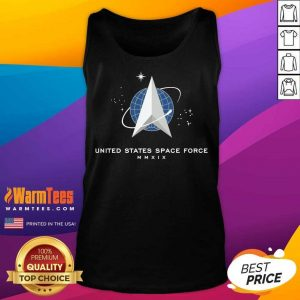 United States Space Force Mmxix Tank Top - Design By Warmtees.com