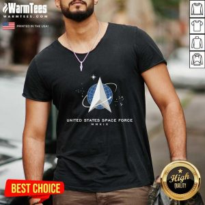 United States Space Force Mmxix V-neck - Design By Warmtees.com