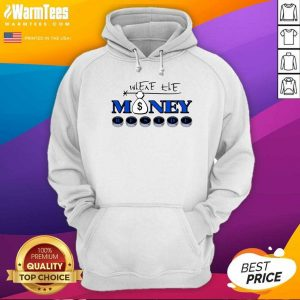 Where The Money Reside Hoodie - Design By Warmtees.com