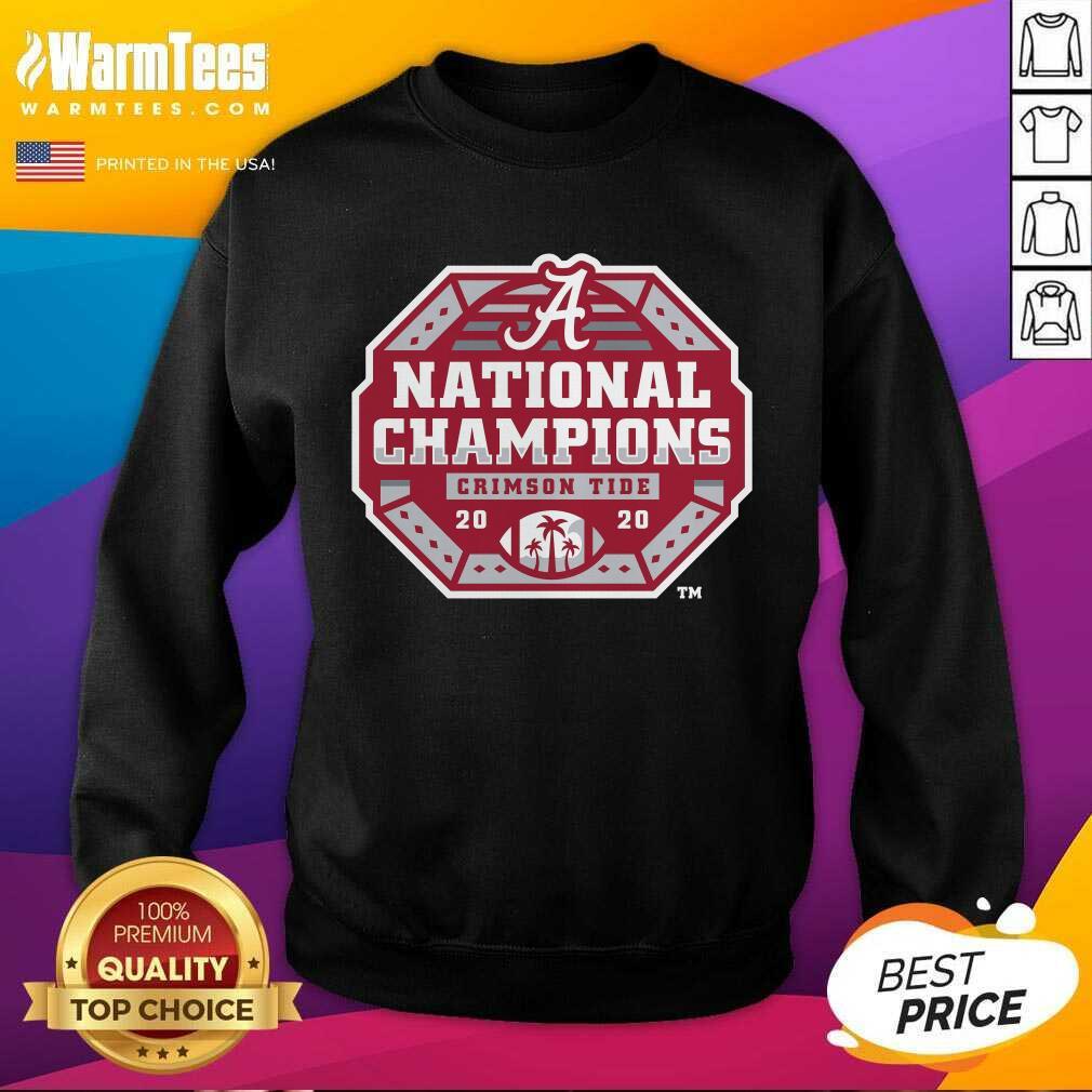 Alabama Crimson Tide Fanatics Branded College Football Playoff 2020 National Champions Sack SweatShirt