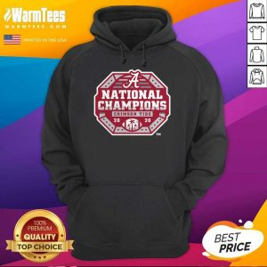 Alabama Crimson Tide Fanatics Branded College Football Playoff 2020 National Champions Sack Hoodie