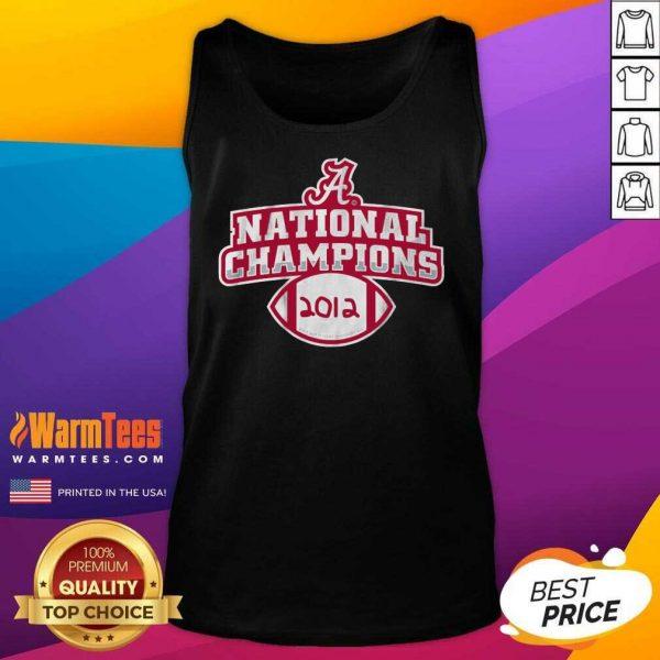 Alabama Crimson Tide National Champions 2012 Tank Top