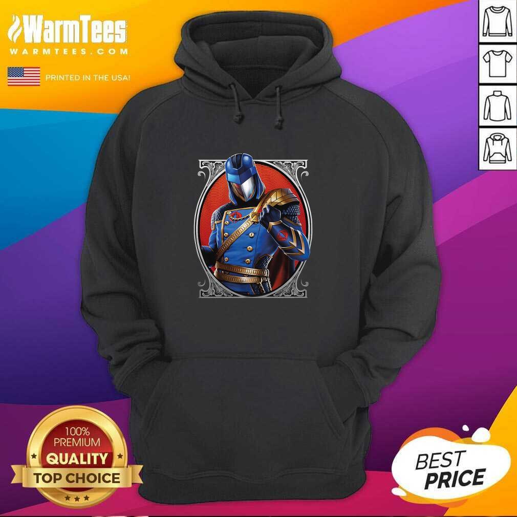 Cobra Commander Classic Pose GI Joe Hoodie - Design By Warmtees.com