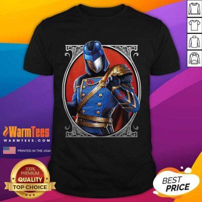 Cobra Commander Classic Pose GI Joe Shirt - Design By Warmtees.com