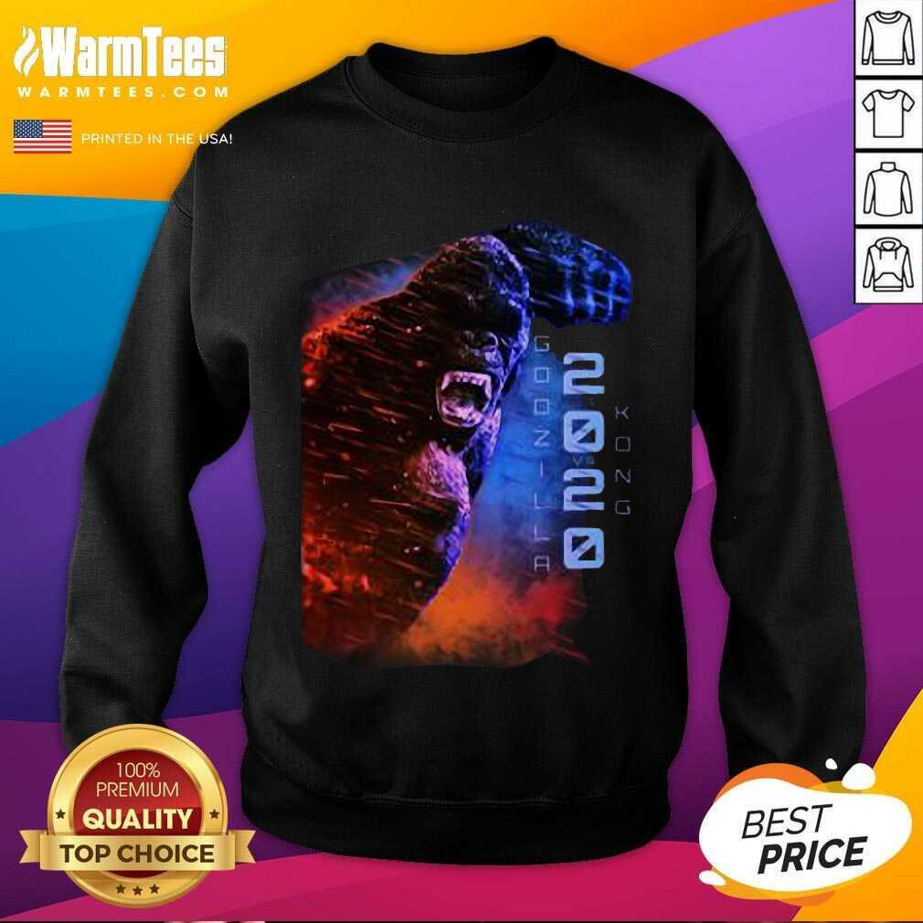 Filtrados Juguetes De Godzilla Vs Kong 2020 SweatShirt