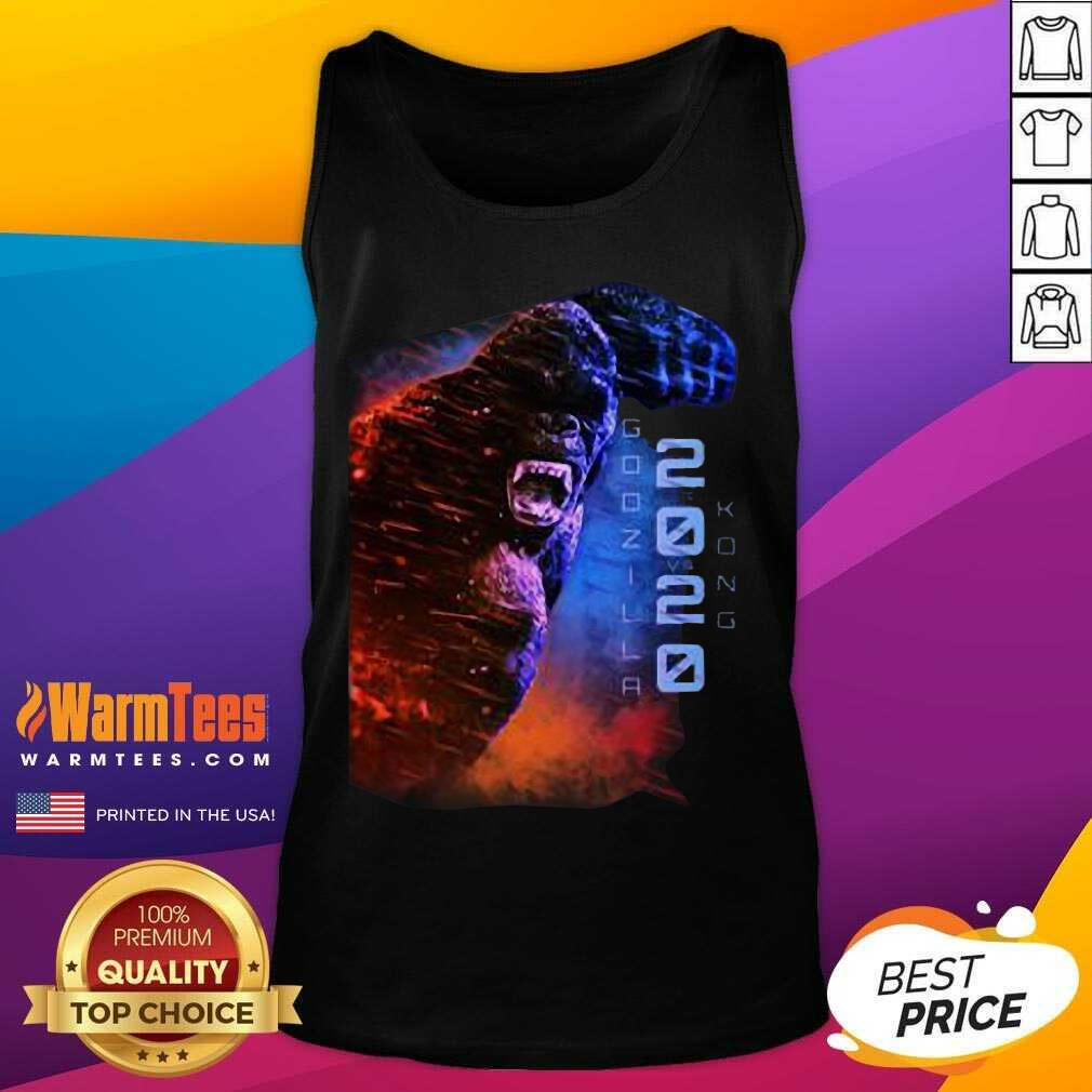 Filtrados Juguetes De Godzilla Vs Kong 2020 Tank Top
