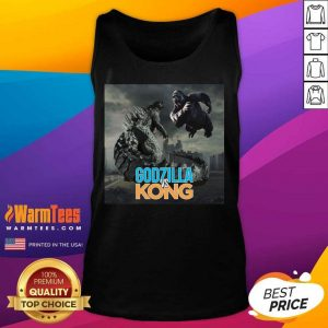 Godzilla Vs Kong Tank Top